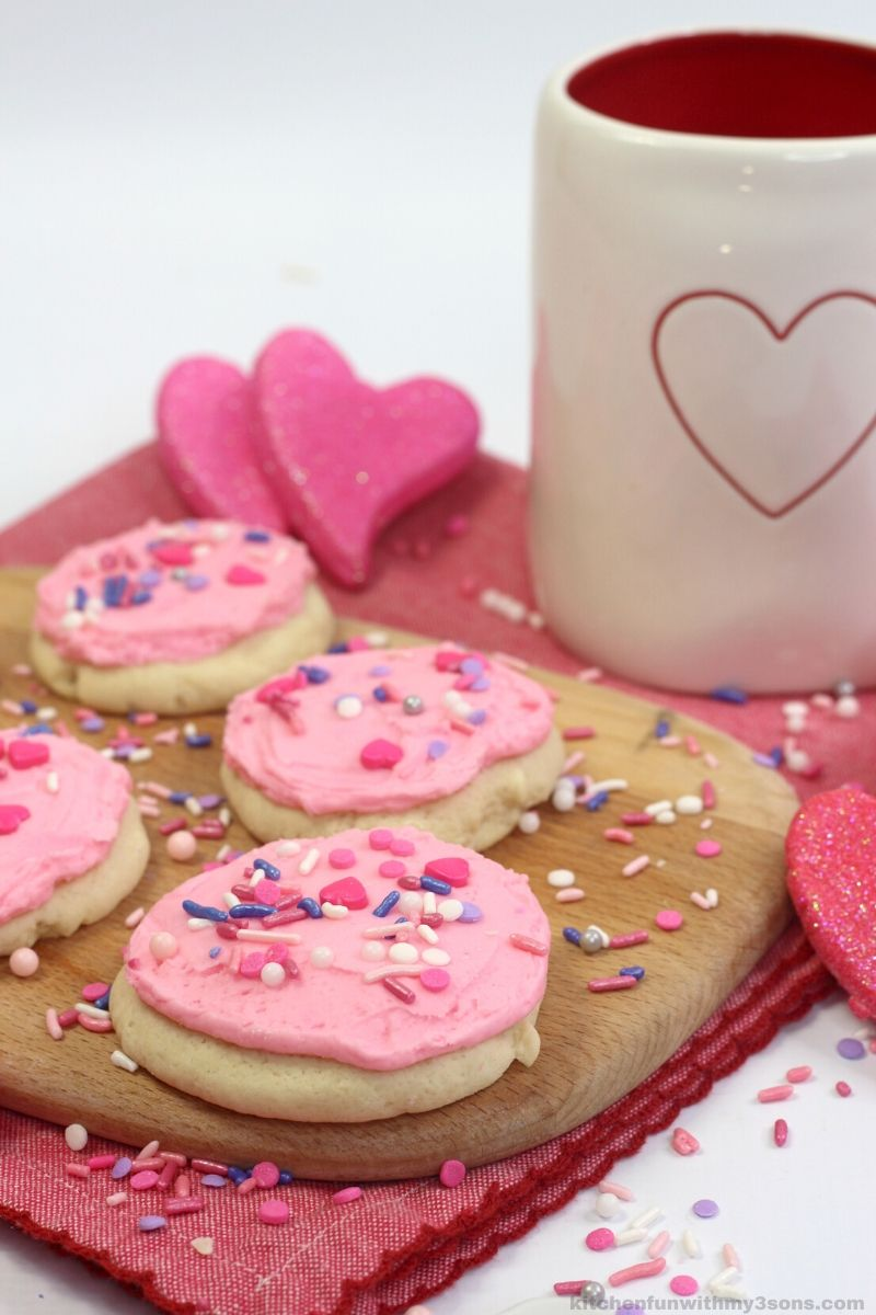 Valentines Day Lofthouse Cookies