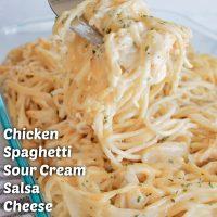 Easy Chicken Spaghetti