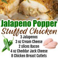 Jalapeno Stuffed Chicken