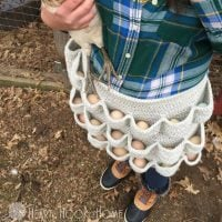 Crochet Egg Holder
