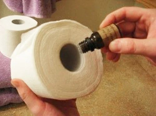 Fragrance in the Toilet Paper Roll