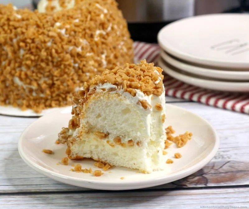 Instant Pot Angel Food Toffee Cake