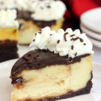 Instant Pot Brownie Bottom Cheesecake