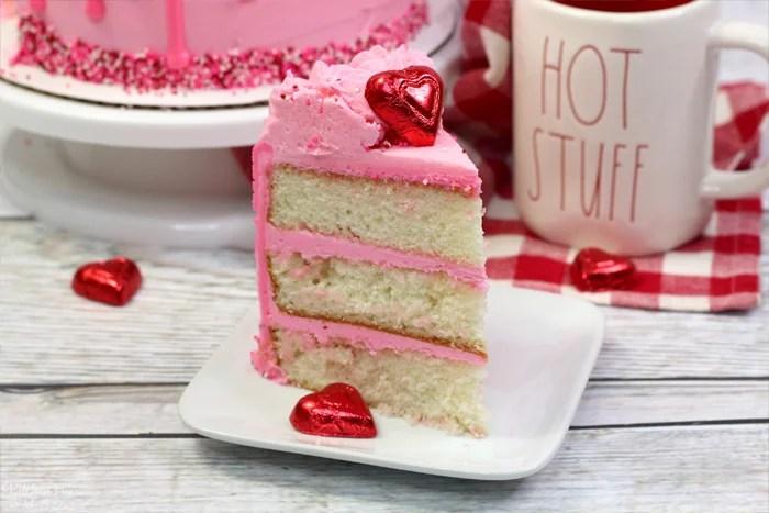 How To Make A Valentine Cake
