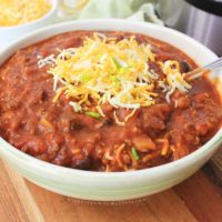 Instant Pot Three Bean Chili Recipe