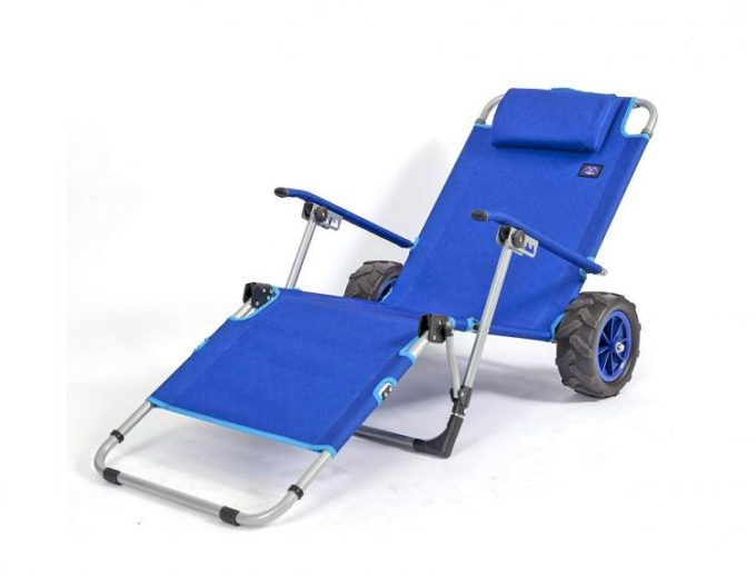 2 in 1 Beach Lounger Wagon