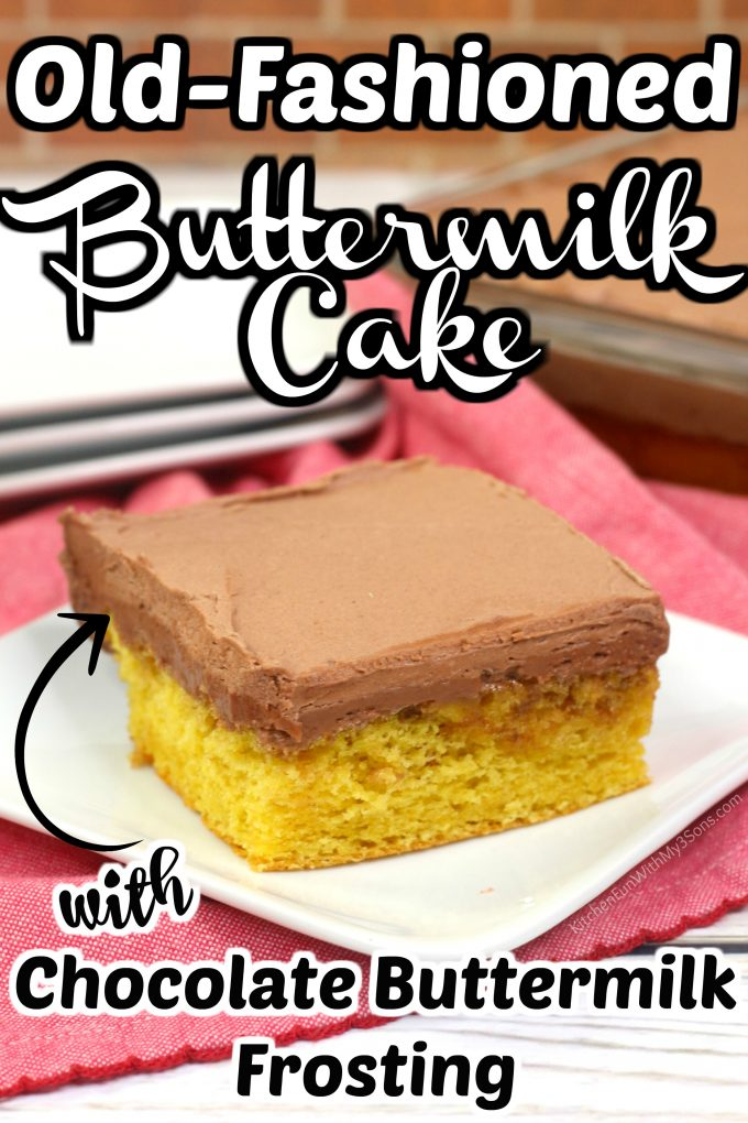 Old-Fashioned Buttermilk Cake