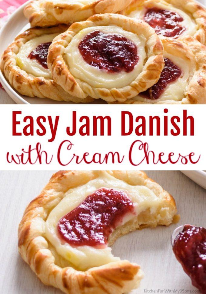 Strawberry Danish with Cream Cheese
