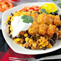 Mexican Tater Tot Casserole (15-Minute Prep)