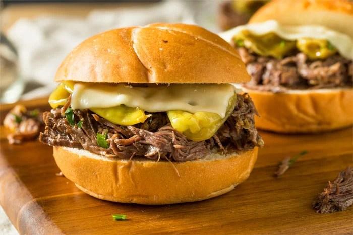 Mississippi Pot Roast Sandwich