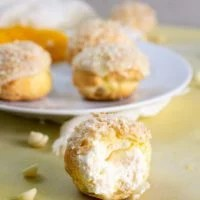 Orange Coconut Cream Puff Recipe