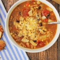 Tex Mex Chicken Chowder Recipe