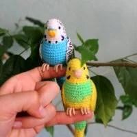 Easy Crochet Bird Pattern