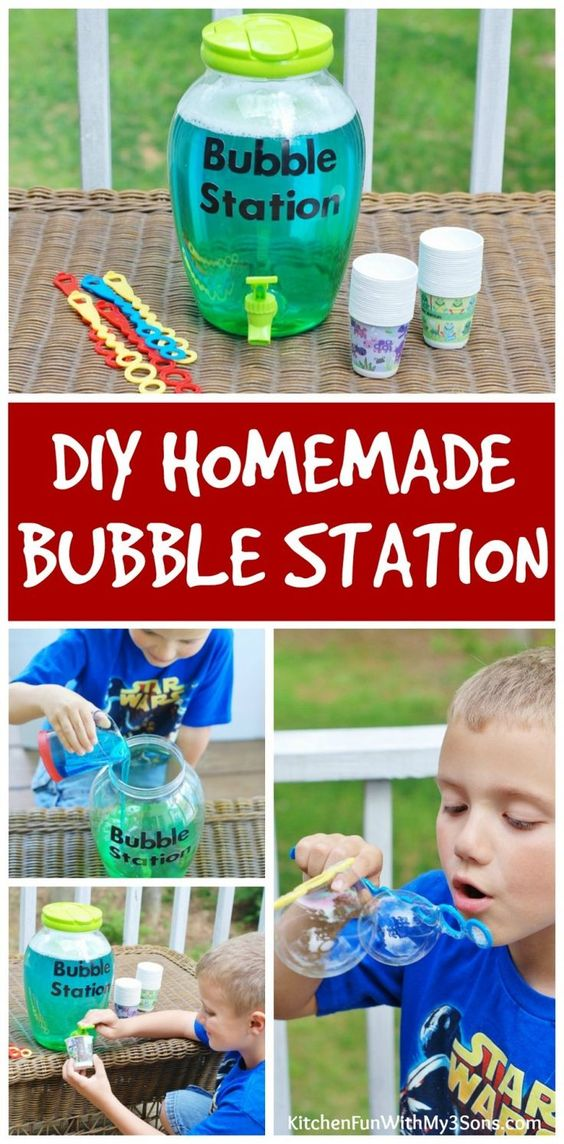 How To Make The BEST Homemade Bubbles