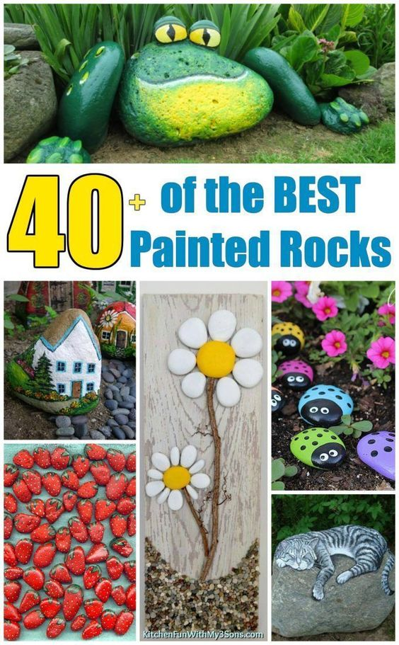40 of the BEST Painted Rocks
