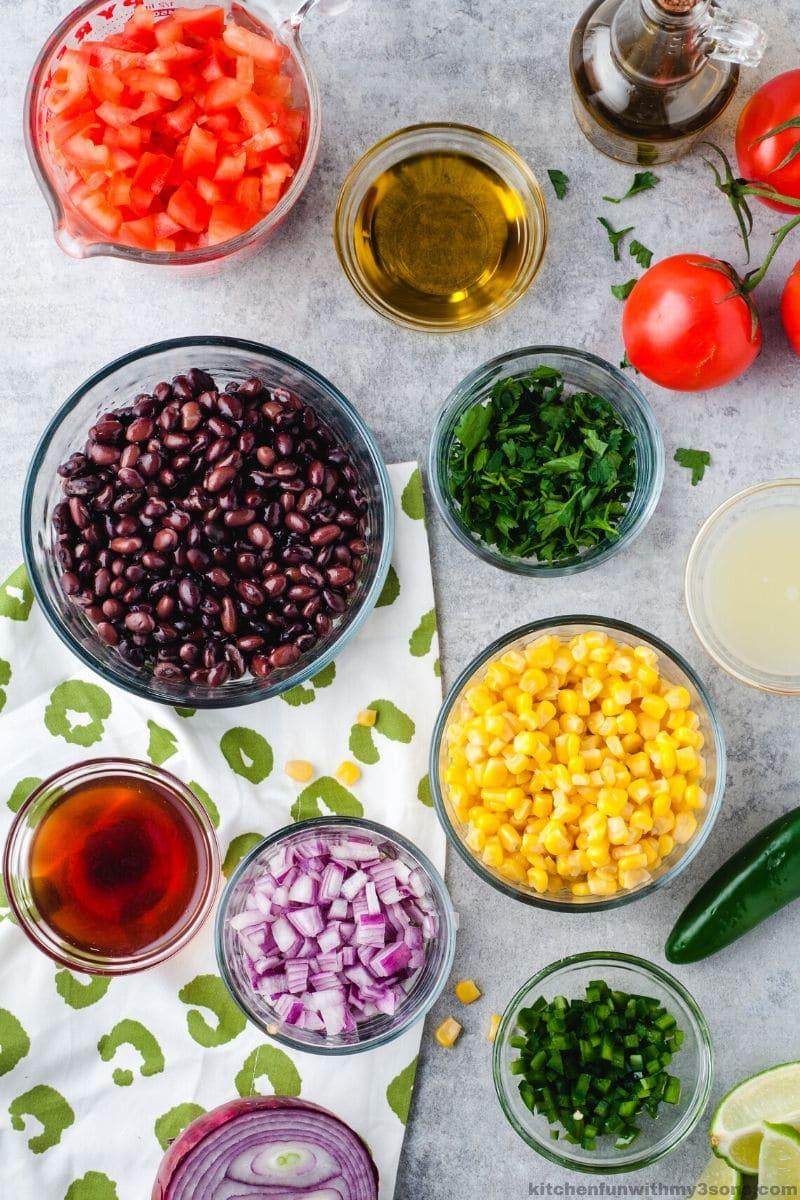 black bean and corn salad salad