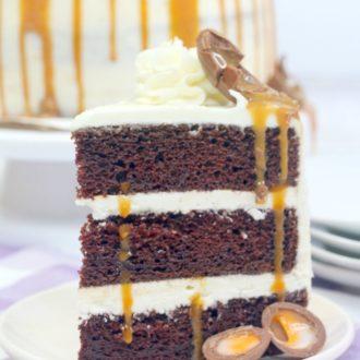 Cadbury Creme Egg Cake Recipe