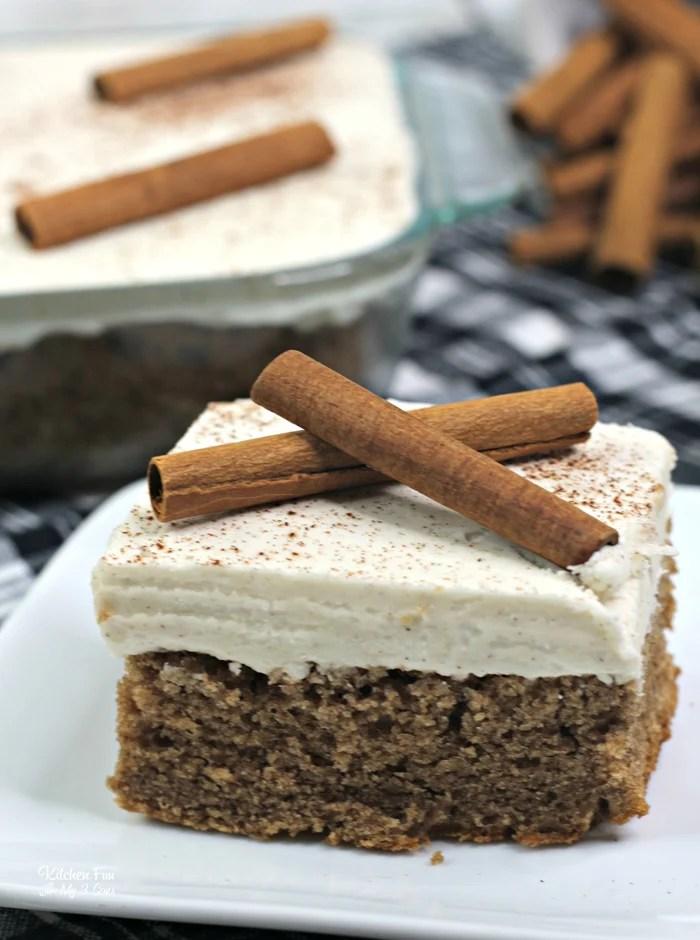 Cinnamon Depression Cake