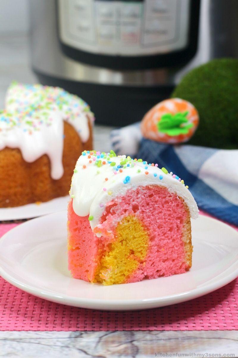Instant Pot Easter Bundt Cake
