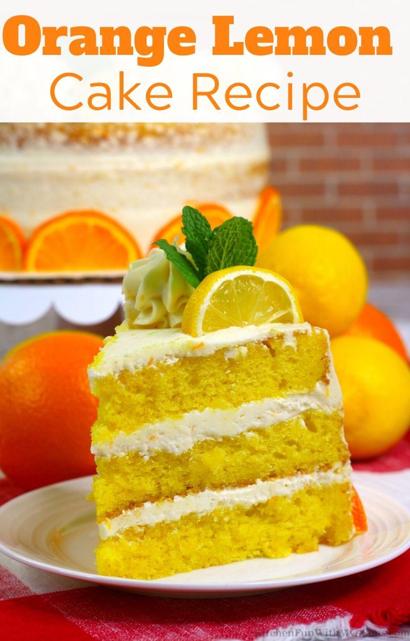 Orange Lemon Cake Recipe