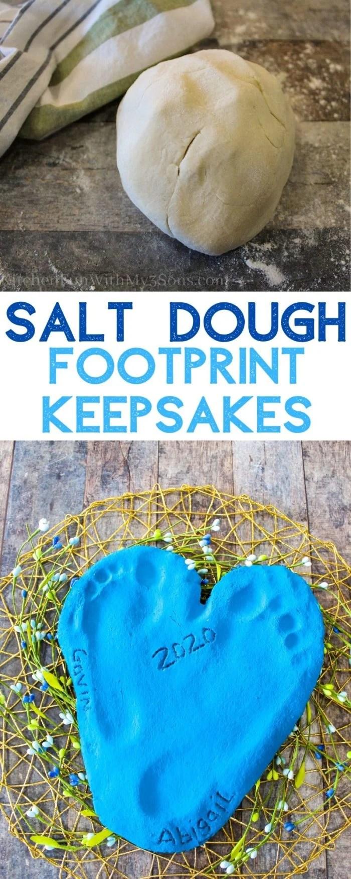 Salt Dough Handprints Keepsake Craft