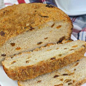 Slow Cooker Cinnamon Raisin Bread Recipe