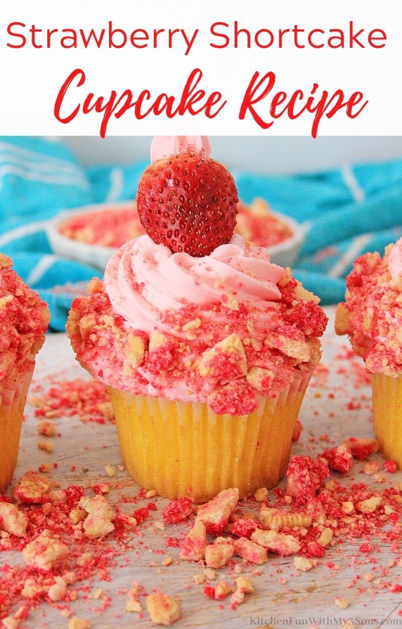 Strawberry Shortcake Cupcake Recipe