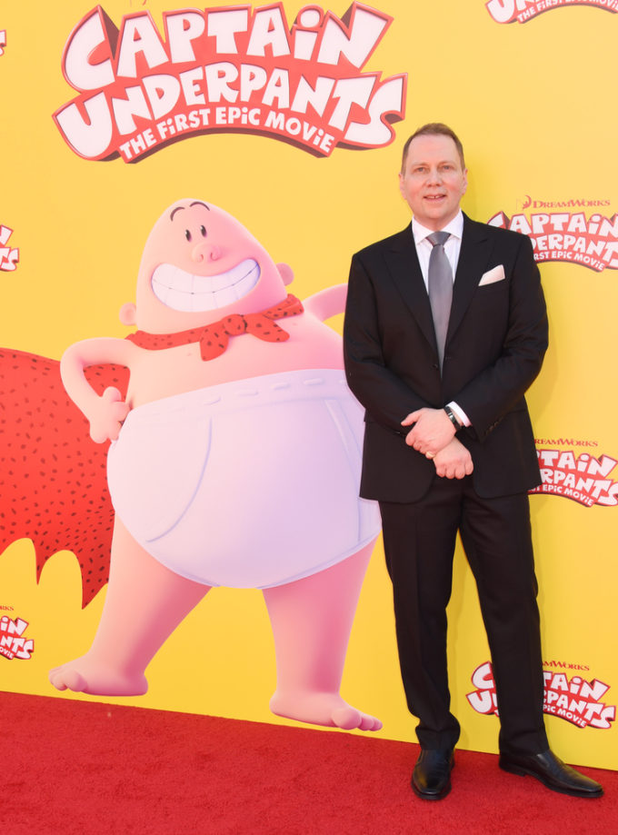 Dave Pilkey Captain Underpants