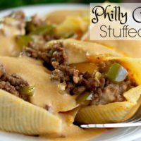 Philly Cheesesteak Stuffed Shells