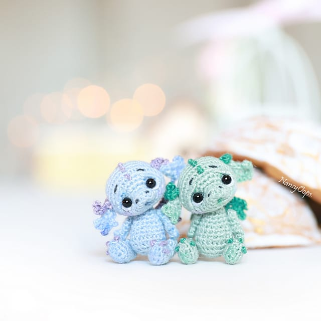 Crochet Miniature Dragon