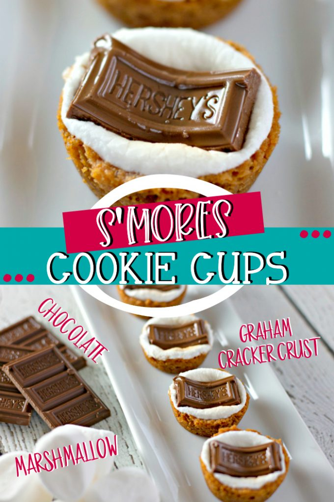 S'mores Cookie Cups on Pinterest
