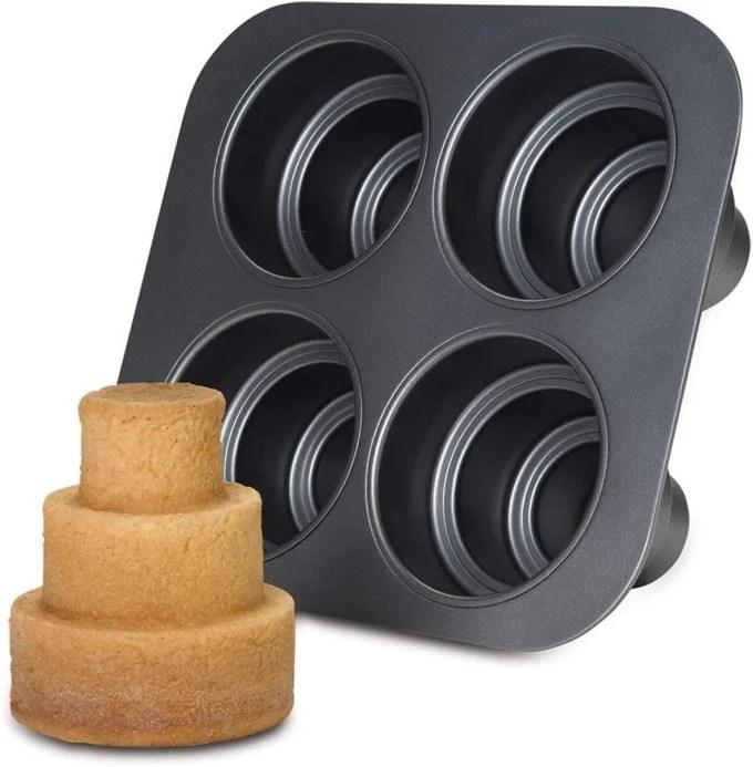 3 Tiered Mini Cake Pan