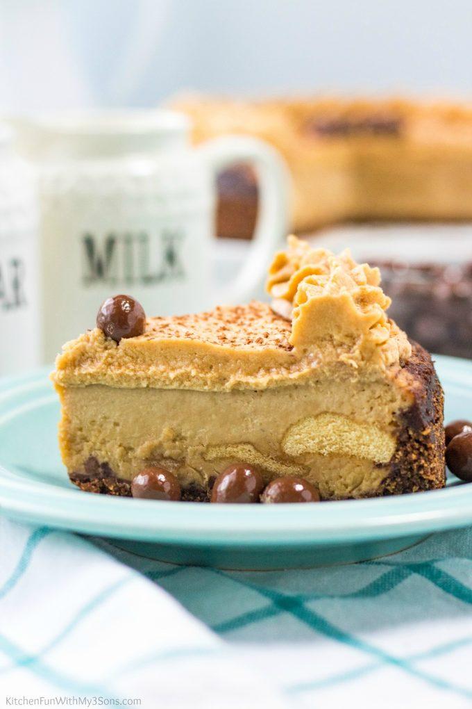 Tiramisu Cheesecake made in the instant Pot