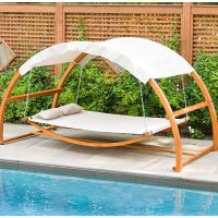 Poolside Hanging Hammock Bed