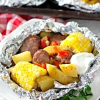 Grilled Sausage Foil Packets