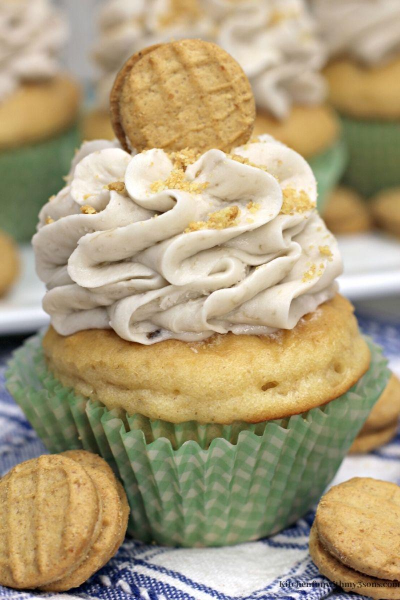 Peanut Butter Banana Cupcakes Recipe