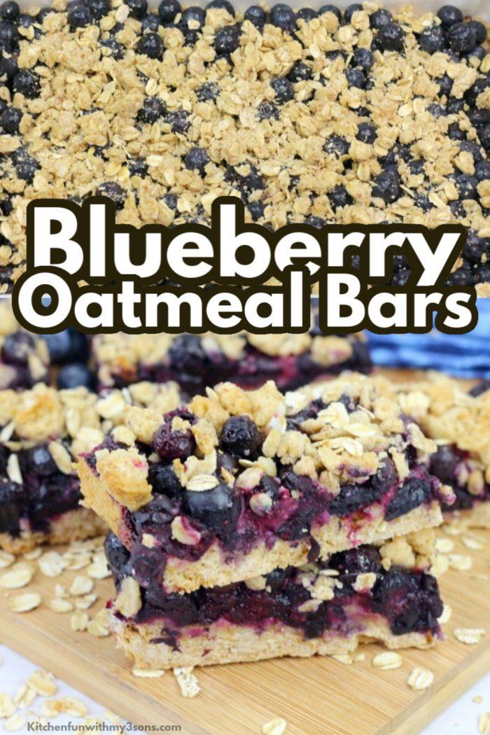 blueberry oatmeal bars
