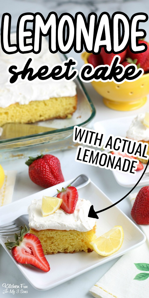 lemonade Sheet Cake