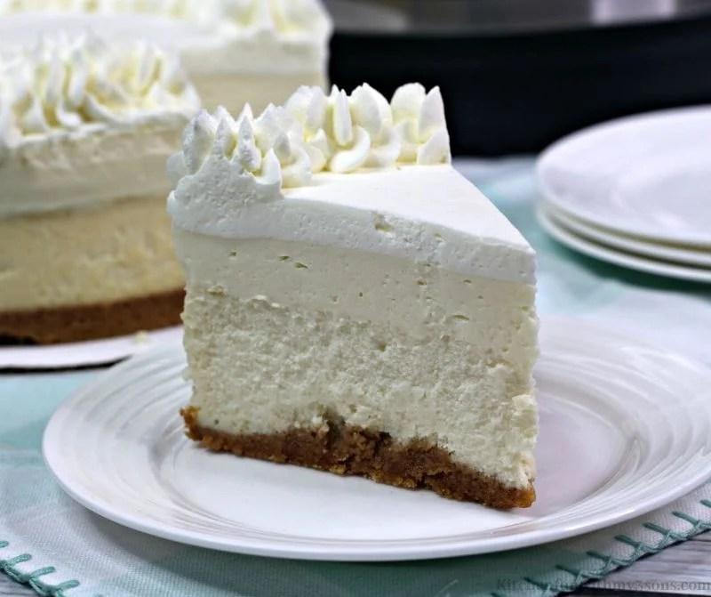 Instant Pot Vanilla Cheesecake Recipe