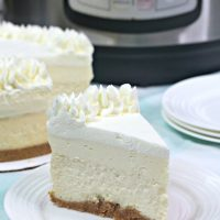 Instant Pot Vanilla Cheesecake Recipe