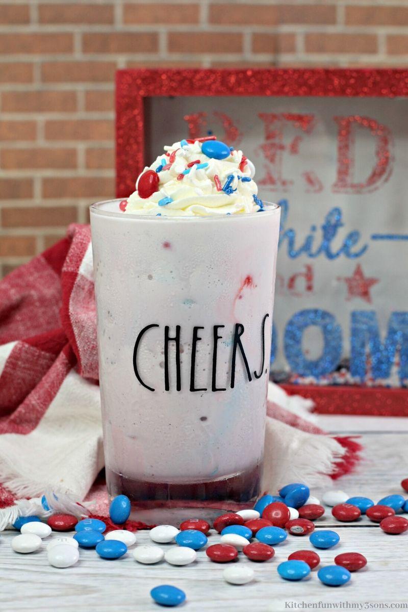 M&M Boozy Milkshake Recipe