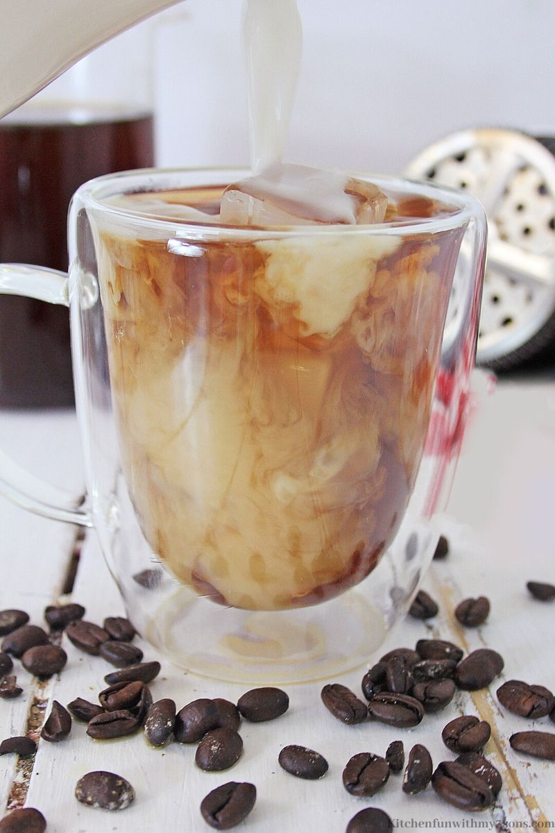 Raspberry Chocolate Whipped Coffee