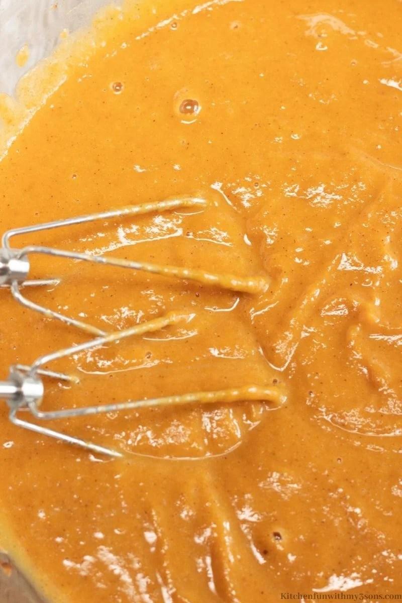 pumpkin batter