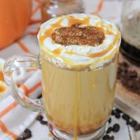 Homemade Caramel Pumpkin Latte