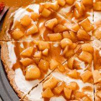 Caramel Apple Pizza