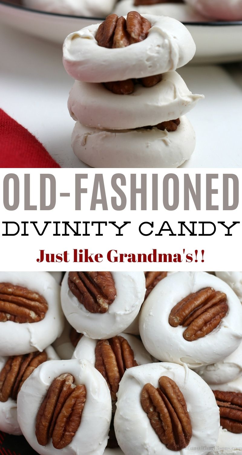 old fashion divinity candy