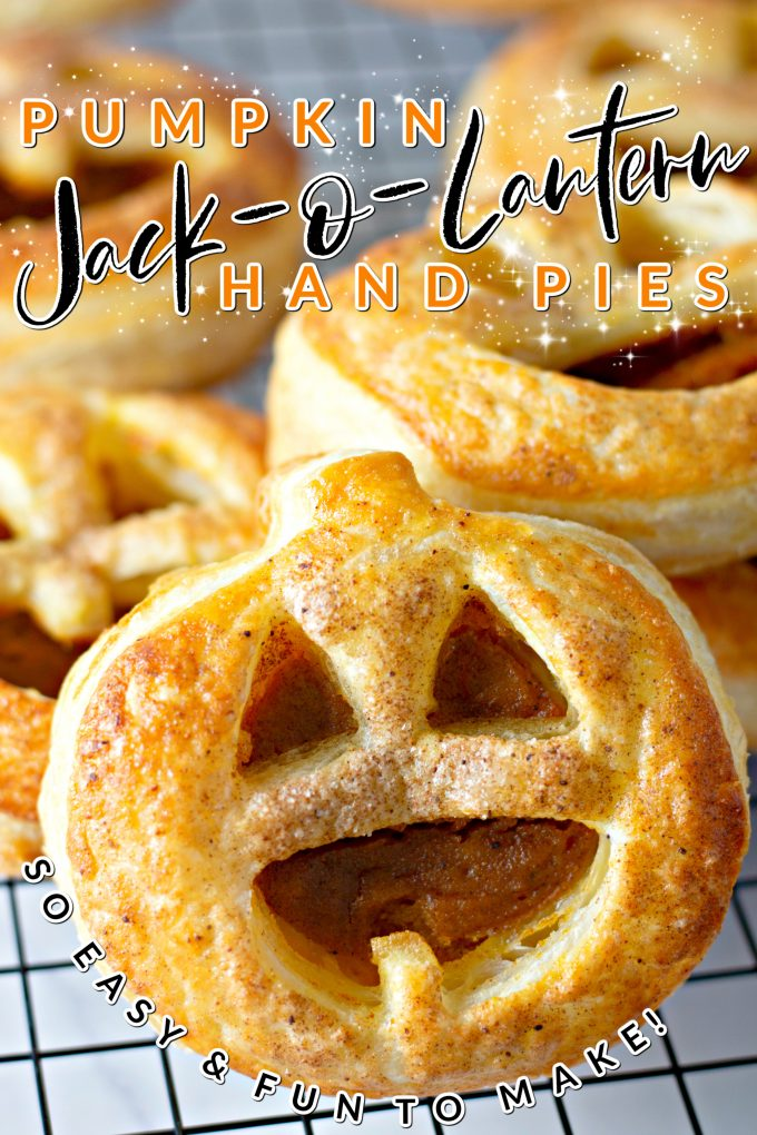 Easy Pumpkin Hand Pies on Pinterest