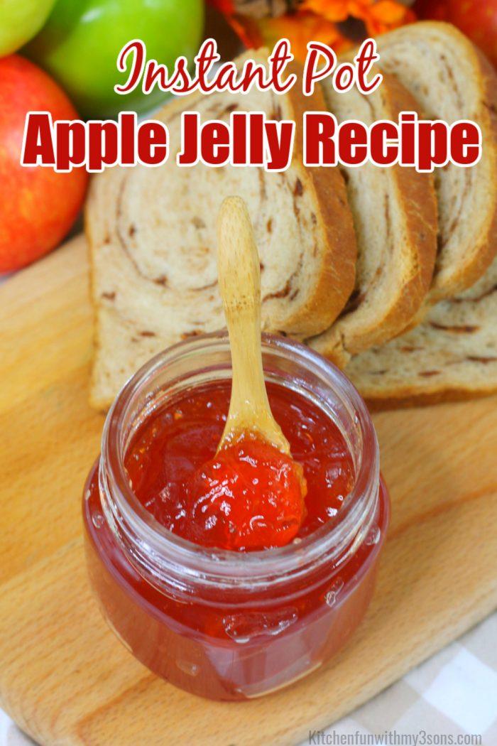 Instant pot apple jelly recipe