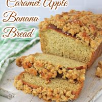 Caramel Apple banana Bread