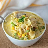 Chicken Pot Pie Soup with Noodles